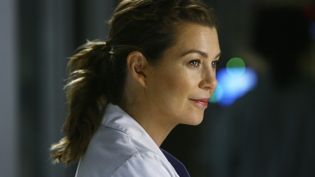 "GREY'S ANATOMY - ""Now or Never"" - Dr. Meredith Grey, on ""Grey's Anatomy,"" THURSDAY, MAY 14 (9:00-11:00 p.m., ET) on the ABC Television Network. ELLEN POMPEO"