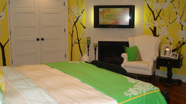"EXTREME MAKEOVER HOME EDITION - ""Oatman-Gaitan Family"" - Master Bedroom, on ""Extreme Makeover Home Edition,"" Sunday, May 20th on the ABC Television Network."