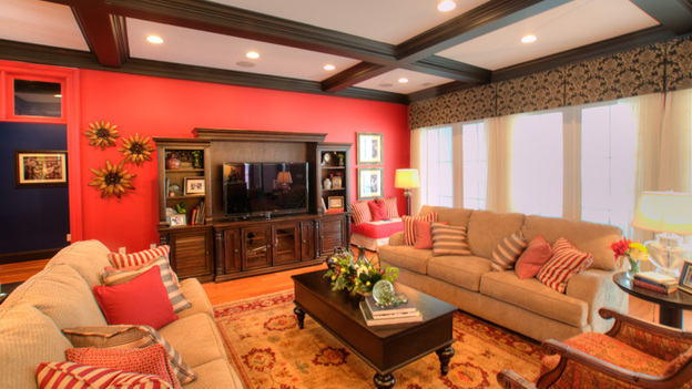 EXTREME MAKEOVER HOME EDITION - &quot;Dickinson Family,&quot; - Living Room Picture, on  &quot;Extreme Makeover Home Edition,&quot; Sunday, May 1st    (8:00-9:00 p.m.  ET/PT) on the ABC Television Network.