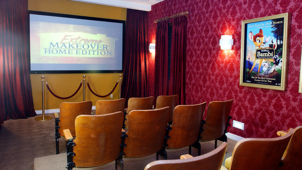 "EXTREME MAKEOVER HOME EDITION - ""Okvath Family,"" - Home Theater, on ""Extreme Makeover Home Edition,"" Sunday, May 13th on the ABC Television Network."