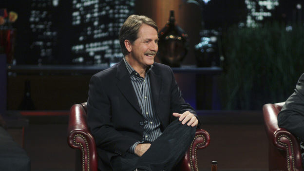 "SHARK TANK - ""Episode 203"" - While successful comedian and businessman Jeff Foxworthy makes his debut as a guest ""Shark"" investor, Vincent Pastore (""The Sopranos"") becomes the first celebrity to pitch a business proposition to the Sharks. He and his New Jersey business partner present a novel idea that could have everyone holding on tighter to their money. Also, a flight attendant and her husband, from Georgia, believe their unique portable child's seat will help make traveling with kids much easier; a duo from Florida believe they have the next big lifestyle clothing brand; an entrepreneur from North Carolina has an emotional attachment to a business his father started before he passed away; and there'll be an update on Tiffany Krumin, the maker of Ava the Elephant, a device that went from a home-made prototype to a mass-produced product sold in retail chains nationwide, on ""Shark Tank,"" FRIDAY, APRIL 8 (8:00-9:00 p.m., ET) on ABC. (ABC/MICHAEL ANSELL)JEFF FOXWORTHY"
