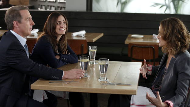 PRIVATE PRACTICE - &quot;Full Release&quot; - Addison attends Henry's court date and realizes that the judge still has some concerns about Jake's past, Sheldon introduces Miranda to his friends, and Cooper's efforts to secure a dream house are put on hold when Charlotte goes into labor, on &quot;Private Practice,&quot; TUESDAY, JANUARY 15 (10:00-11:00 p.m., ET) on the ABC Television Network. (ABC/KELSEY MCNEAL)BRIAN BENBEN, DIANE FARR, AMY BRENNEMAN