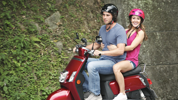 "THE BACHELORETTE - ""Episode 707"" - Ben F. meets Ashley at a breathtaking national park. They hop aboard a scooter and zip past majestic waterfalls and magnificent mountains, holding on to each other for dear life. Later at dinner, this cautious, but sensitive bachelor finally expresses his true feelings for Ashley, which sincerely touches her, on ""The Bachelorette,"" MONDAY, JULY 11 (8:00-10:01 p.m., ET), on ABC. (ABC/KENNY TING)BEN F., ASHLEY HEBERT"