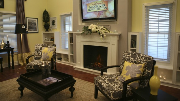 EXTREME MAKEOVER HOME EDITION - &quot;Tutwiler Family,&quot; - Living Room, on &quot;Extreme Makeover Home Edition,&quot; Sunday, January 25th on the ABC Television Network.