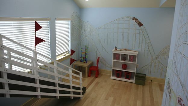 "EXTREME MAKEOVER HOME EDITION - ""Tripp Family,"" - Boy's Bedroom, on ""Extreme Makeover Home Edition,"" Sunday, February 14th on the ABC Television Network."