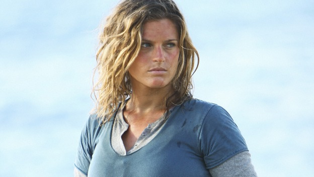 "LOST -  ""This Place is Death"" - Nadine, a member of Rousseau's team of French scientists, arrives on the island, on ""Lost,"" WEDNESDAY, FEBRUARY 11 (9:00-10:02 p.m., ET) on the ABC Television Network.  (ABC/MARIO PEREZ) ALEXANDRA TOBAS"