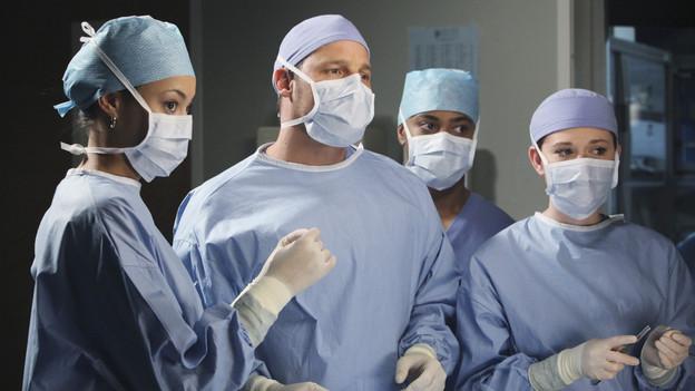 Grey's Anatomy Anatomía 7x12