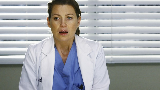 "GREY'S ANATOMY - ""Now or Never"" - Dr. Meredith Grey discovers that patient ""John Doe"" is her friend and co-worker, George O'Malley, on ""Grey's Anatomy,"" THURSDAY, MAY 14 (9:00-11:00 p.m., ET) on the ABC Television Network. ELLEN POMPEO"