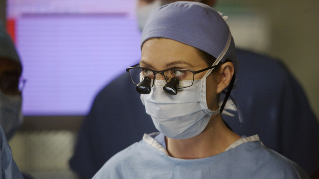 GREY'S ANATOMY - &quot;Piece of My Heart&quot; - Addison returns to Seattle Grace to perform an operation and is taken aback by all of the changes in her old co-workers' lives. Meanwhile Meredith and Derek's clinical trial has its first patient, and Rebecca/Ava returns with shocking news for Alex, on &quot;Grey's Anatomy,&quot; THURSDAY, MAY 1 (9:00-10:01 p.m., ET) on the ABC Television Network.  (ABC/SCOTT GARFIELD)ELLEN POMPEO