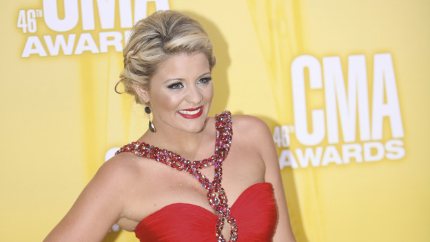 THE 46TH ANNUAL CMA AWARDS - RED CARPET ARRIVALS - &quot;The 46th Annual CMA Awards&quot; airs live THURSDAY, NOVEMBER 1 (8:00-11:00 p.m., ET) on ABC live from the Bridgestone Arena in Nashville, Tennessee. (ABC/SARA KAUSS)LAUREN ALAINA