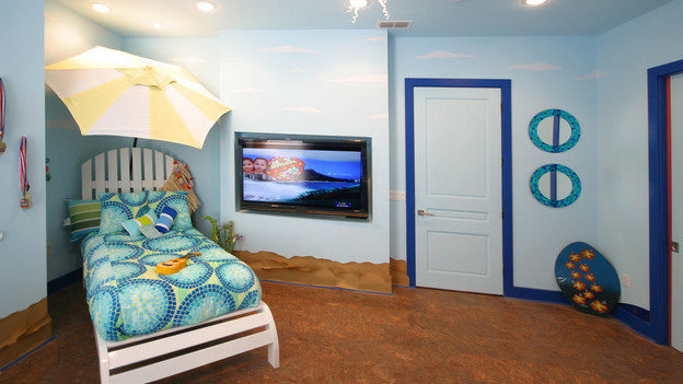 EXTREME MAKEOVER HOME EDITION - &quot;Carr Family,&quot; - Surfing Room, on &quot;Extreme Makeover Home Edition,&quot; Sunday, May 2nd (8:00-9:00 p.m. ET/PT) on the ABC Television Network.