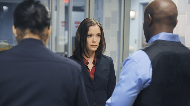 PRIVATE PRACTICE - &quot;Sins of the Father&quot; -- Addison is shaken by the unwelcome arrival of her father to Los Angeles, Cooper is arrested when he refuses to cooperate in a case involving a longtime patient, and Pete fights to keep a terminally ill patient alive long enough for him to meet his new daughter, on &quot;Private Practice,&quot; THURSDAY, NOVEMBER 19 (10:01-11:00 p.m., ET) on the ABC Television Network. (ABC/ERIC MCCANDLESS)MARGUERITE MOREAU, TAYE DIGGS