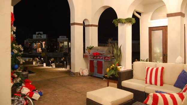 "EXTREME MAKEOVER HOME EDITION - Patio Photo, ""Harris Family,"" on ""Extreme Makeover Home Edition,"" Monday, December 10th (8:00-10:00 p.m. ET/PT) on the ABC Television Network."