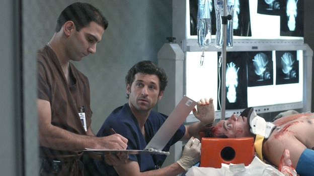 "101728_1769 -- COMPLICATIONS - ""NO MAN'S LAND"" (ABC/ RON TOM)PATRICK DEMPSEY, F.J. RIO"