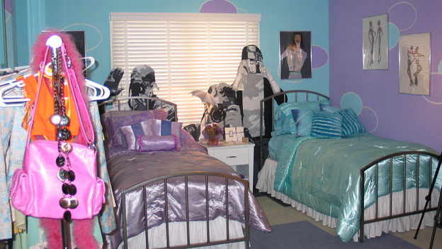 "EXTREME MAKEOVER HOME EDITION - ""Ginyard Family,"" - Girls' Bedroom, on ""Extreme Makeover Home Edition,"" Sunday, October 30th on the ABC Television Network."