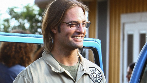 "LOST - ""Namaste"" - When some old friends drop in unannounced, Sawyer is forced to further perpetuate his lie in order to protect them, on ""Lost,"" WEDNESDAY, MARCH 18 (9:00-10:02 p.m., ET) on the ABC Television Network. (ABC/MARIO PEREZ)JOSH HOLLOWAY"