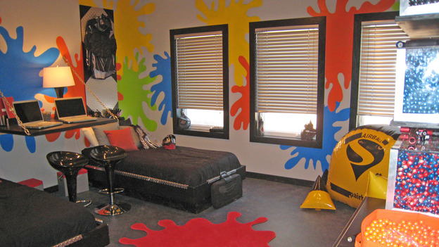 EXTREME MAKEOVER HOME EDITION - &quot;Collins Family,&quot; - Boy's Bedroom, on &quot;Extreme Makeover Home Edition,&quot; Sunday, May 6th on the ABC Television Network.