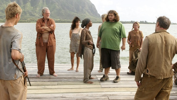 "LOST -- ""Live Together, Die Alone"" - Bea and the Others with Hurley, on the season finale of ""Lost,"" WEDNESDAY, MAY 24 (9:00-11:00 p.m., ET), on the ABC Television Network. (ABC/MARIO PEREZ) M.C. GAINEY, APRIL GRACE, JORGE GARCIA, MICHAEL VENDRELL"
