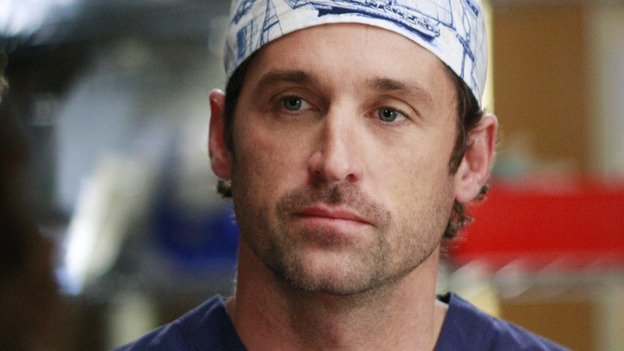 "GREY'S ANATOMY - ""Dream a Little Dream of Me"" - Derek preps for surgery, on ""Grey's Anatomy,"" THURSDAY, SEPTEMBER 25 (9:00-11:00 p.m., ET) on the ABC Television Network. (ABC/RON TOM) PATRICK DEMPSEY"
