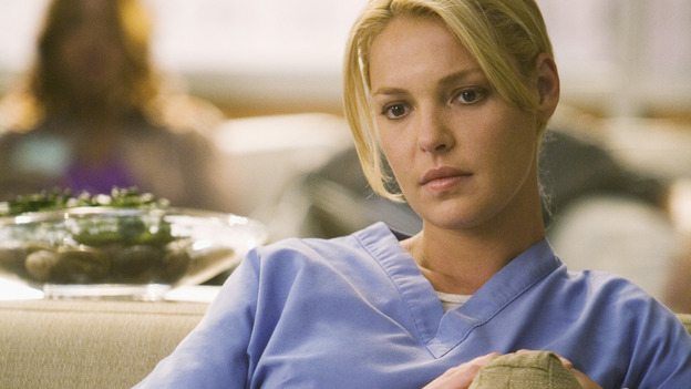"GREY'S ANATOMY - ""Brave New World"" - Izzie goes to Dermatology to clear her head, on ""Grey's Anatomy,"" THURSDAY, OCTOBER 16 (9:00-10:01 p.m., ET) on the ABC Television Network. (ABC/RANDY HOLMES) KATHERINE HEIGL"