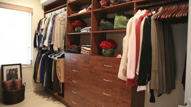 "EXTREME MAKEOVER HOME EDITION - ""Anderson Family,""  - Closet    Picture, on ""Extreme Makeover Home Edition,"" Sunday, December 5th      (8:00-9:00 p.m. ET/PT) on the ABC Television Network."