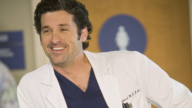 GREY'S ANATOMY - &quot;These Ties That Bind&quot; - Dr. Derek Shepherd, on &quot;Grey's Anatomy,&quot; THURSDAY, NOVEMBER 13 (9:00-10:01 p.m., ET) on the ABC Television Network. (ABC/RANDY HOLMES) PATRICK DEMPSEY