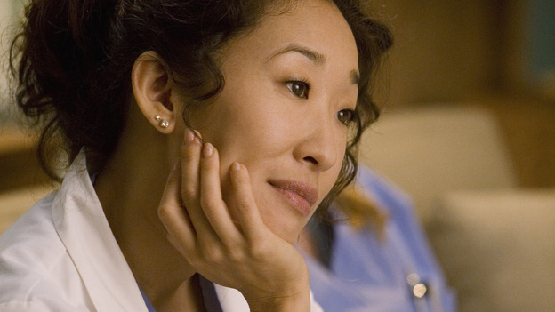 "GREY'S ANATOMY - ""Brave New World"" - Cristina is fascinated by the world of Dermatology, on ""Grey's Anatomy,"" THURSDAY, OCTOBER 16 (9:00-10:01 p.m., ET) on the ABC Television Network. (ABC/RANDY HOLMES) SANDRA OH"
