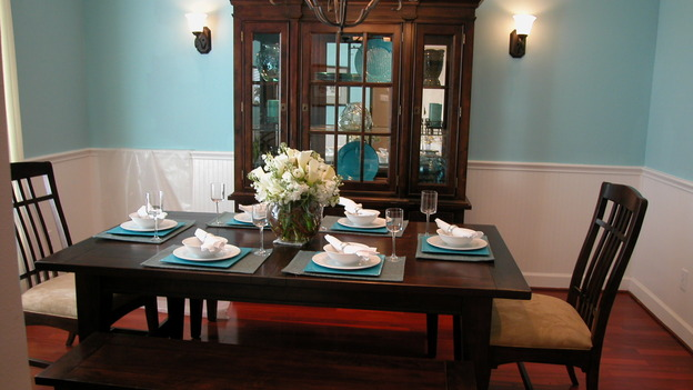 EXTREME MAKEOVER HOME EDITION - &quot;Kubena Family,&quot; - Dining Room, on &quot;Extreme Makeover Home Edition,&quot; Sunday, February 19th on the ABC Television Network.