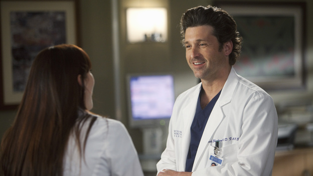 GREY'S ANATOMY - &quot;The Lion Sleeps Tonight&quot; - A lion breaks loose in Seattle, leaving a couple's lives and relationship at risk; Lexie overhears Mark's discussion about moving in with Julia; Teddy begins to take steps towards coming to terms with Henry's death; Callie grills Arizona on her past lovers; and Alex requests to be taken off Morgan's preemie case when she becomes too dependent on him. Meanwhile, Meredith tries to be a support for Cristina as the tension between her and Owen hits a boiling point, on Grey's Anatomy, THURSDAY, APRIL 5 (9:00-10:01 p.m., ET) on the ABC Television Network. - A lion breaks loose in Seattle, leaving a couple's lives and relationship at risk; Lexie overhears Mark's discussion about moving in with Julia; Teddy begins to take steps towards coming to terms with Henry's death; Callie grills Arizona on her past lovers; and Alex requests to be taken off Morgan's preemie case when she becomes too dependent on him. Meanwhile, Meredith tries to be a support for Cristina as the tension between her and Owen hits a boiling point, on Grey's Anatomy, THURSDAY, XXXXX (9:00-10:02 p.m., ET) on the ABC Television Network. (ABC/RANDY HOLMES)CHYLER LEIGH, PATRICK DEMPSEY