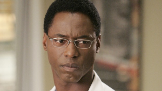 "GREY'S ANATOMY - ""INTO YOU LIKE A TRAIN"" (ABC/CRAIG SJODIN)ISAIAH WASHINGTON"