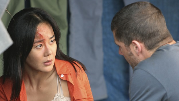 "LOST - ""The Long Con"" - (ABC/MARIO PEREZ)YUNJIN KIM, MATTHEW FOX"