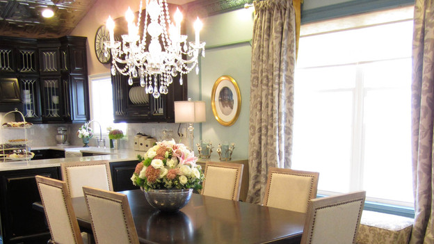 "EXTREME MAKEOVER HOME EDITION - ""Walker Family,"" - Dining Room Picture, on  ""Extreme Makeover Home Edition,"" Friday, December 2nd (8:00-10:00 p.m.  ET/PT) on the ABC Television Network."