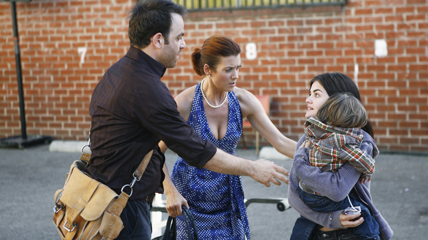 PRIVATE PRACTICE - &quot;Pushing the Limits&quot; - Addison, Sam and Cooper treat the sick child of a homeless teen mother they met while volunteering. Meanwhile Violet has trouble relating to her baby when her feelings about her attack resurface during counseling of a rape victim who is now pregnant, and Cooper's financial woes catch up with him when he's asked to help buy out Naomi's share of the practice, on &quot;Private Practice,&quot; THURSDAY, OCTOBER 22 (10:01-11:00 p.m., ET) on the ABC Television Network. (ABC/ADAM LARKEY)PAUL ADELSTEIN, KATE WALSH, LUCY HALE