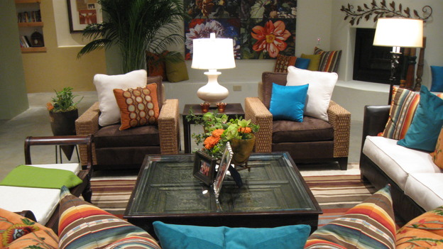 EXTREME MAKEOVER HOME EDITION - &quot;Bell Family,&quot; - Living&nbsp;Room, on &quot;Extreme Makeover Home Edition,&quot; Sunday, March 22nd on the ABC Television Network.