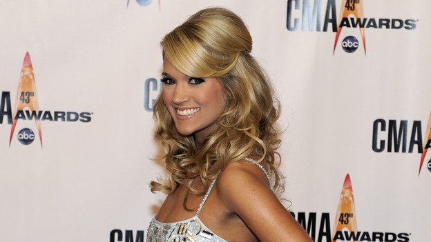 "THE 43rd ANNUAL CMA AWARDS - RED CARPET ARRIVALS - ""The 43rd Annual CMA Awards"" will be broadcast live from the Sommet Center in Nashville, WEDNESDAY, NOVEMBER 11 (8:00-11:00 p.m., ET) on the ABC Television Network. (ABC/DONNA SVENNEVIK)CARRIE UNDERWOOD"