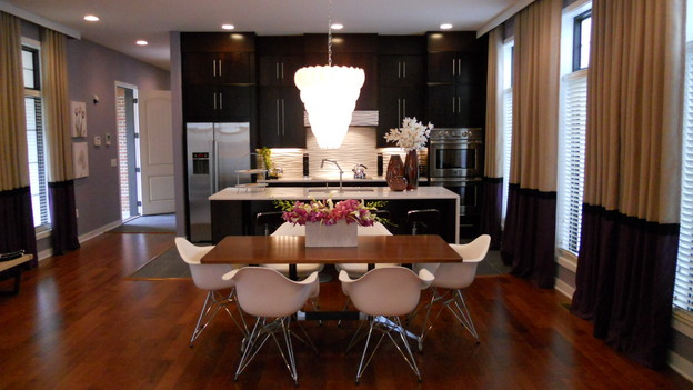 "EXTREME MAKEOVER HOME EDITION - ""Anderson Family,""  - Dining Room   Picture, on ""Extreme Makeover Home Edition,"" Sunday, December 5th     (8:00-9:00 p.m. ET/PT) on the ABC Television Network."