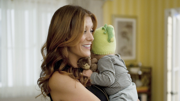"PRIVATE PRACTICE - ""Aftershock"" - Addison settles into her new life after making a decision between Jake and Sam; Violet fears the worst when Pete doesn't show up to his preliminary court hearing; and Charlotte swears Cooper to secrecy when she receives shocking news. Meanwhile, Amelia celebrates one year of sobriety and Sheldon rekindles a romance with his ex-wife, on the sixth-season premiere of ""Private Practice,"" TUESDAY, SEPTEMBER 25 (10:00-11:00 p.m., ET) on the ABC Television Network. (ABC/COLLEEN HAYES) KATE WALSH"