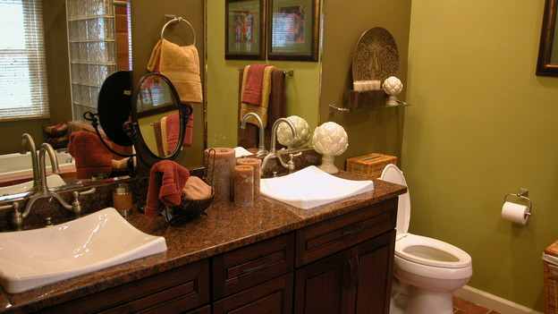 "EXTREME MAKEOVER HOME EDITION - ""Arena Family,"" - Bathroom Detail, on ""Extreme Makeover Home Edition,"" Sunday, May 14th on the ABC Television Network."
