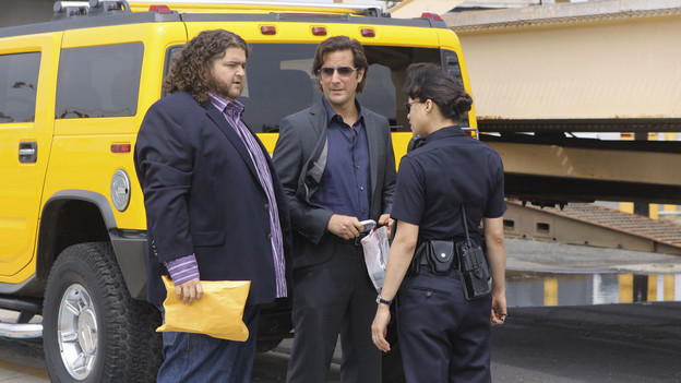 "LOST - ""What They Died For"" - While Locke devises a new strategy, Jack's group searches for Desmond, on ""Lost,"" TUESDAY, MAY 18 (9:00-10:02 p.m., ET) on the ABC Television Network. (ABC/MARIO PEREZ)JORGE GARCIA, HENRY IAN CUSICK, MICHELLE RODRIGUEZ"