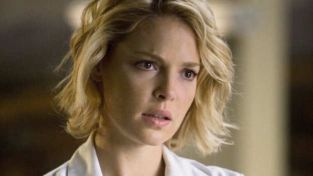 "GREY'S ANATOMY - ""Sympathy for the Devil"" - Dr. Izzie Stevens, on ""Grey's Anatomy,"" THURSDAY, JANUARY 15 (9:00-10:01 p.m., ET) on the ABC Television Network. (ABC/RANDY HOLMES) KATHERINE HEIGL"