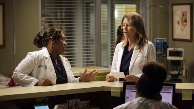 GREY'S ANATOMY - &quot;Beautiful Doom&quot; - In this Meredith &amp; Cristina-centric episode, the two friends continue to cope with life after the plane crash and their ever-growing responsibilities at their respective hospitals. As Meredith juggles taking care of Zola with a case that hits close to home, Cristina assists Dr. Thomas on a challenging heart surgery, on &quot;Grey's Anatomy,&quot; THURSDAY, NOVEMBER 8 (9:00-10:02 p.m., ET) on the ABC Television Network. (ABC/KELSEY MCNEAL)CHANDRA WILSON, ELLEN POMPEO
