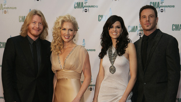 "THE 42ND ANNUAL CMA AWARDS - ARRIVALS - ""The 42nd Annual CMA Awards"" will be broadcast live from the Sommet Center in Nashville, WEDNESDAY, NOVEMBER 12 (8:00-11:00 p.m., ET) on the ABC Television Network. (ABC/ADAM LARKEY)LITTLE BIG TOWN"