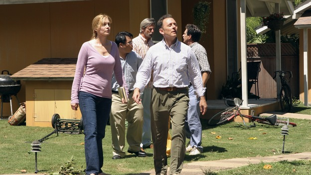 "LOST - ""Lost"" - awarded the 2005 Emmy and 2006 Golden Globe for best drama series - is back for a third season of action-packed mystery and adventure that will continue to bring out the very best and the very worst in the people who are lost. In the season premiere episode, ""A Tale of Two Cities,"" Jack, Kate and Sawyer begin to discover what they are up against as prisoners of ""The Others."" The season premiere airs WEDNESDAY, OCTOBER 4 (9:00-10:01 p.m., ET), on the ABC Television Network. (ABC/MARIO PEREZ)ELIZABETH MITCHELL, MICHAEL EMERSON"