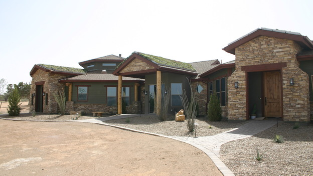 "EXTREME MAKEOVER HOME EDITION - ""Yazzie Family"" - Exterior, on ""Extreme Makeover Home Edition,"" Sunday, October 28th on the ABC Television Network."