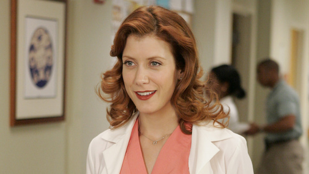 "102468_6810 -- GREY'S ANATOMY - ""RAINDROPS KEEP FALLING ON MY HEAD"" (ABC/CRAIG SJODIN)KATE WALSH"