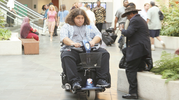 "LOST - ""Exodus"" - Hurley, on ""Lost,"" on THURSDAY, MAY 18 on the ABC Television Network. (ABC/MARIO PEREZ) JORGE GARCIA"