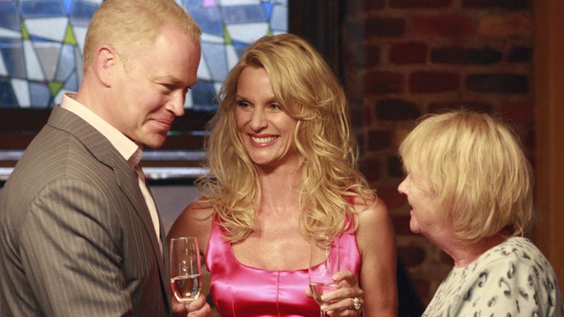 "DESPERATE HOUSEWIVES - ""You're Gonna Love Tomorrow"" - Dave Williams charms Mrs. McCluskey."