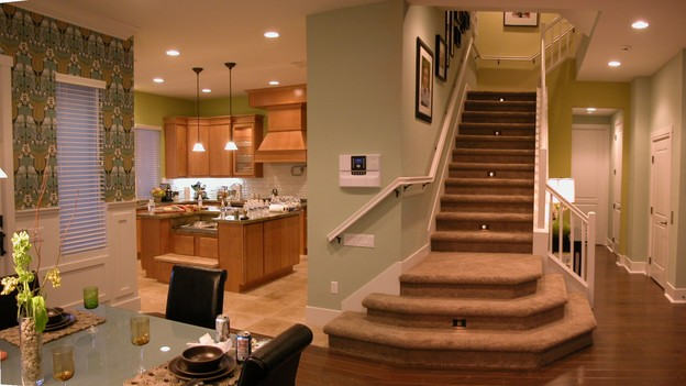 "EXTREME MAKEOVER HOME EDITION - ""Tom Family,"" - Kitchen - Dining Room, on ""Extreme Makeover Home Edition,"" Sunday, November 6th on the ABC Television Network."