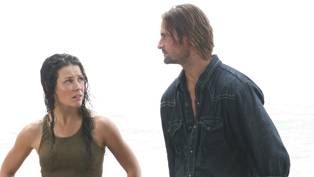 "LOST - ""Maternity Leave"" - (ABC/MARIO PEREZ)EVANGELINE LILLY, JOSH HOLLOWAY"
