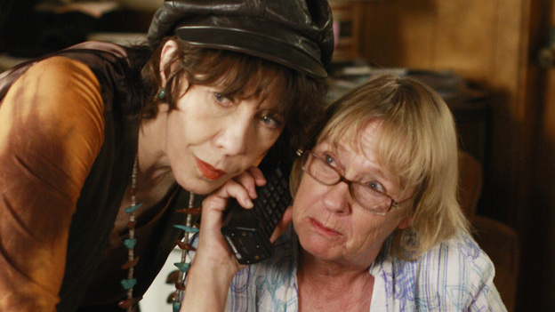Sister ActAfter Edie's husband, Dave, tries to play mind games on Karen, she calls her sister, Roberta, for help. Pairing up Kathryn Joosten and Lily Tomlin as sisters was truly inspired casting. In a little bit of trivia, both of these ladies played the president's secretary on The West Wing at different times during that show's run.